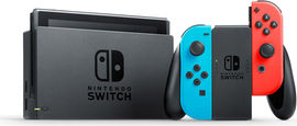Version couleur de la console Switch